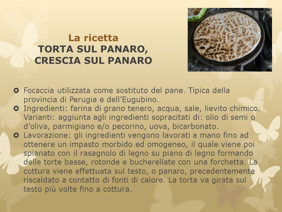 La ricetta TORTA SUL PANARO, CRESCIA SUL PANARO