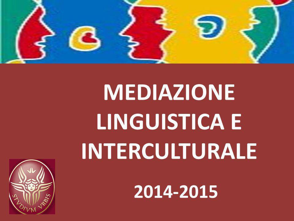 MEDIAZIONE LINGUISTICA E INTERCULTURALE