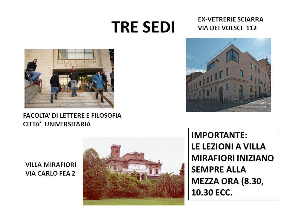 TRE SEDI EX-VETRERIE SCIARRA. VIA DEI VOLSCI 112. FACOLTA' DI LETTERE E FILOSOFIA. CITTA' UNIVERSITARIA.