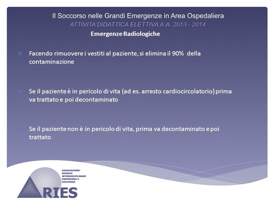 Emergenze Radiologiche