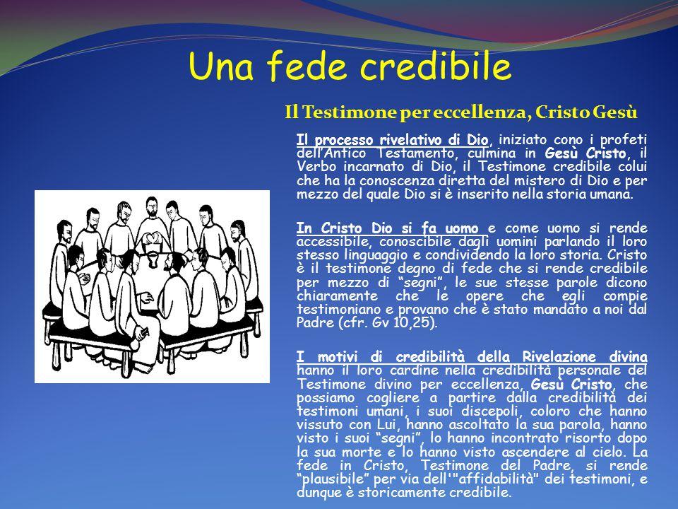 Il Testimone per eccellenza, Cristo Gesù