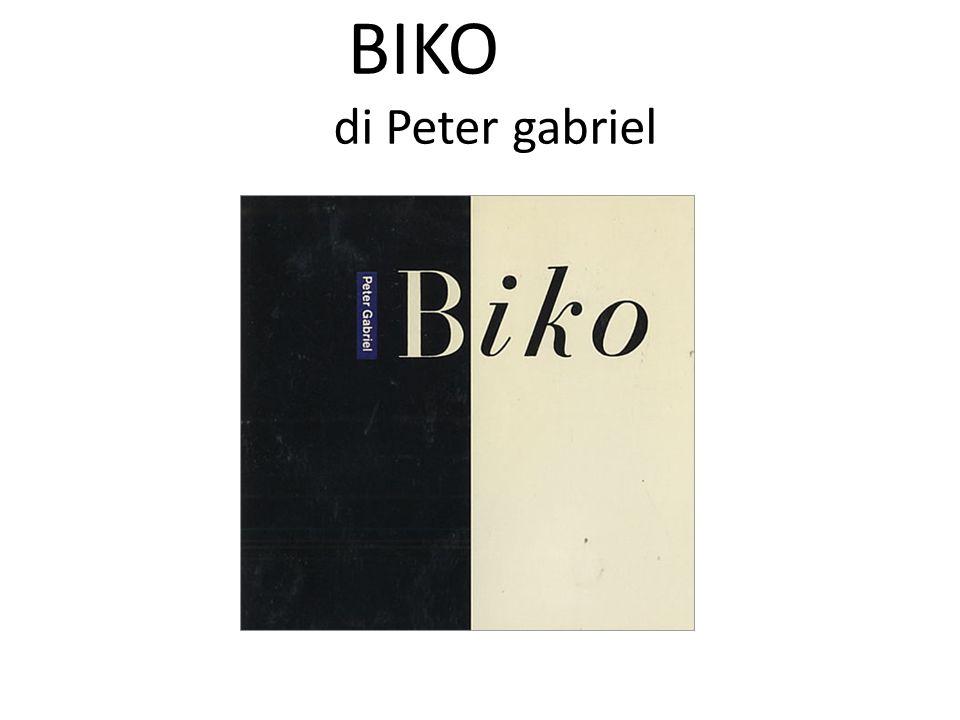 BIKO di Peter gabriel