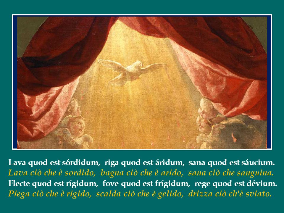Lava quod est sórdidum, riga quod est áridum, sana quod est sáucium