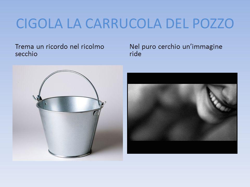 CIGOLA LA CARRUCOLA DEL POZZO