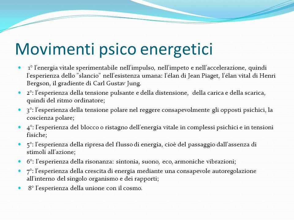 Movimenti psico energetici