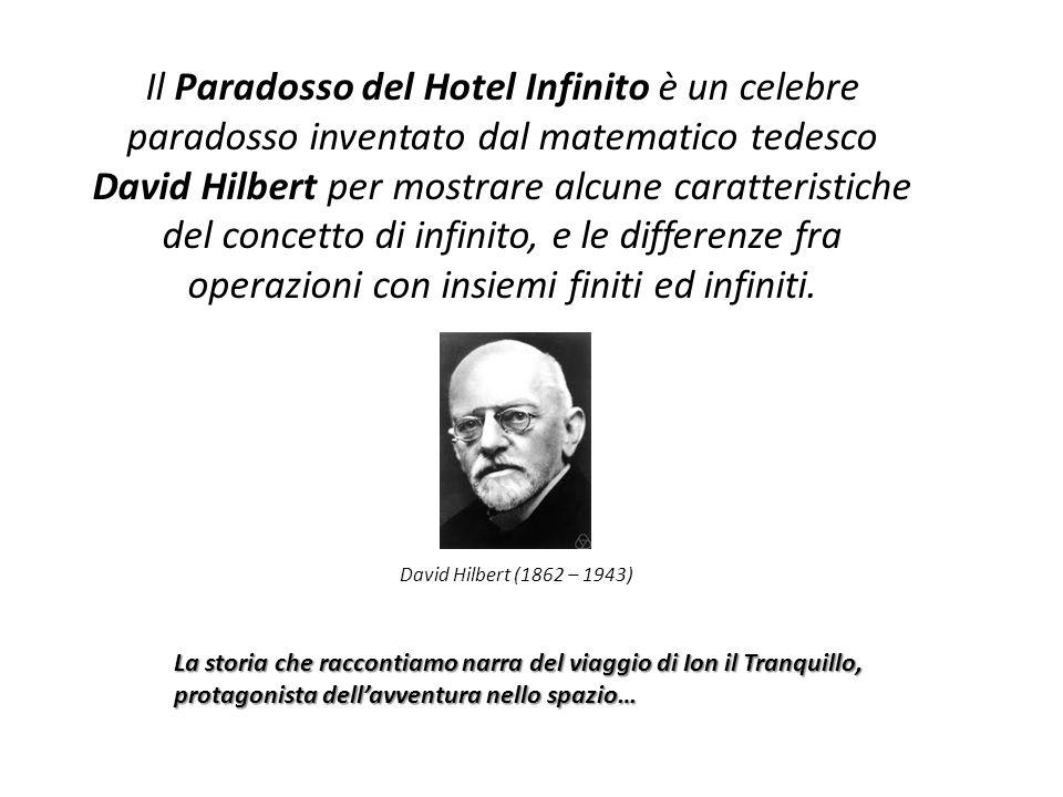 Il Paradosso del Hotel Infinito è un celebre paradosso inventato dal matematico tedesco David Hilbert per mostrare alcune caratteristiche del concetto di infinito, e le differenze fra operazioni con insiemi finiti ed infiniti.
