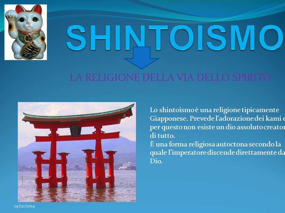 LA RELIGIONE DELLA VIA DELLO SPIRITO