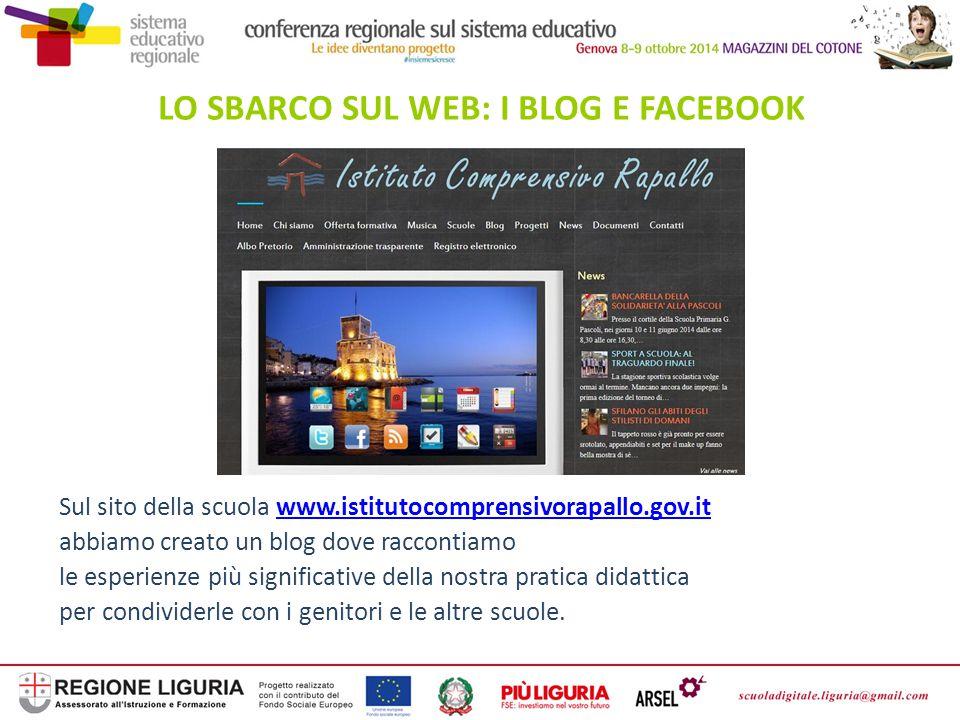 LO SBARCO SUL WEB: I BLOG E FACEBOOK
