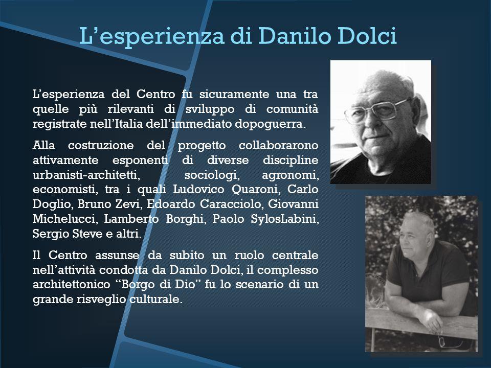 L'esperienza di Danilo Dolci