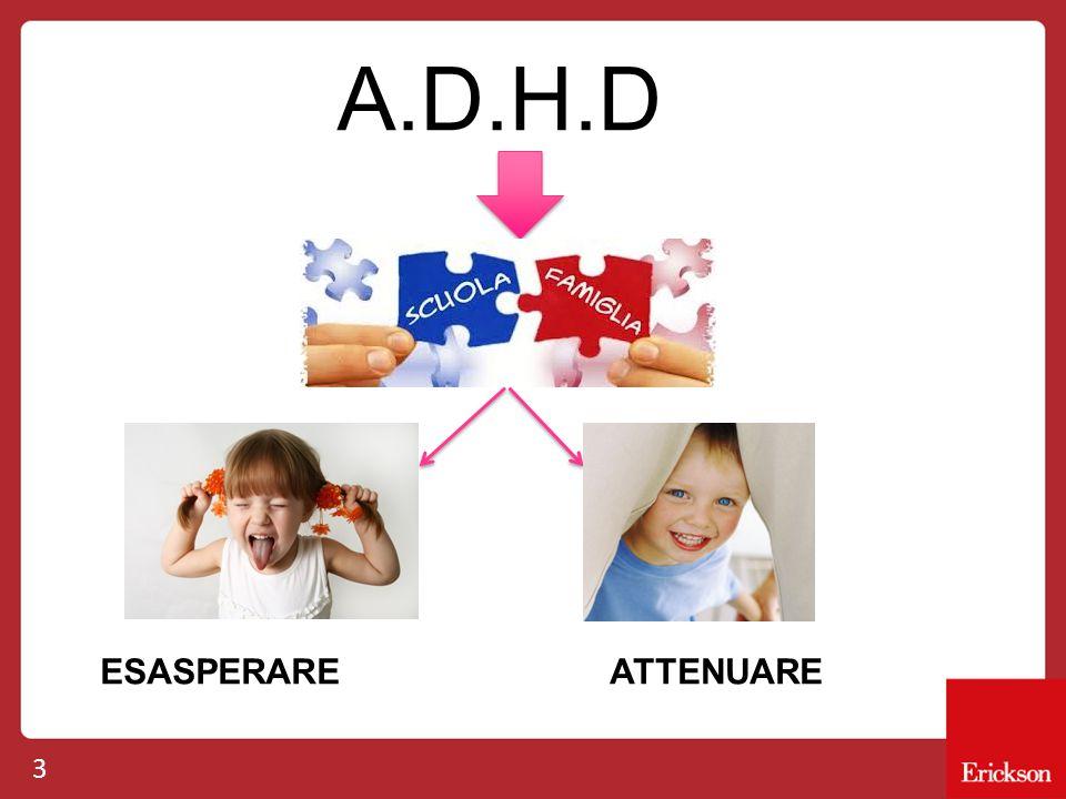 A.D.H.D ESASPERARE ATTENUARE