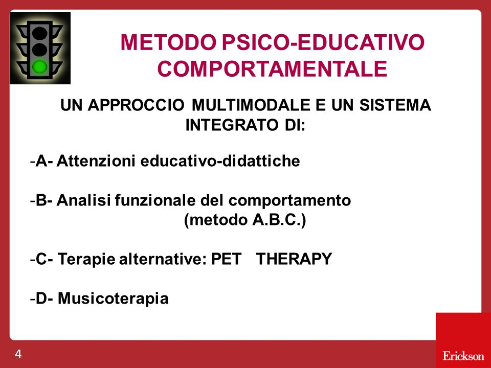 METODO PSICO-EDUCATIVO COMPORTAMENTALE