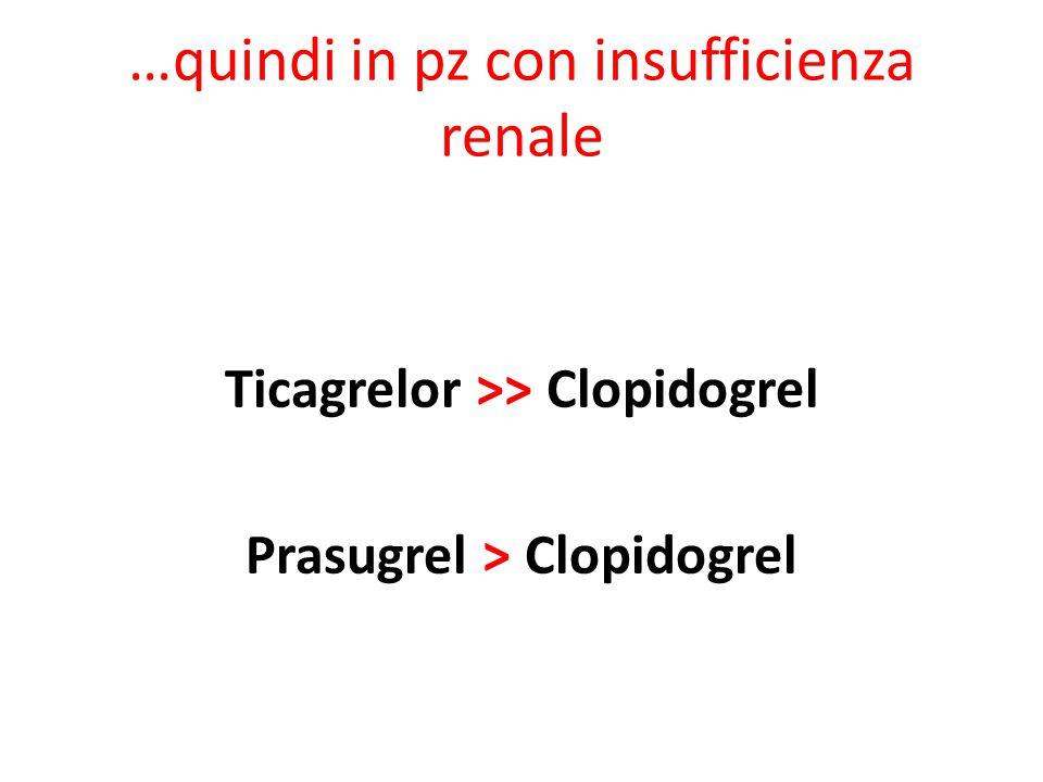 …quindi in pz con insufficienza renale