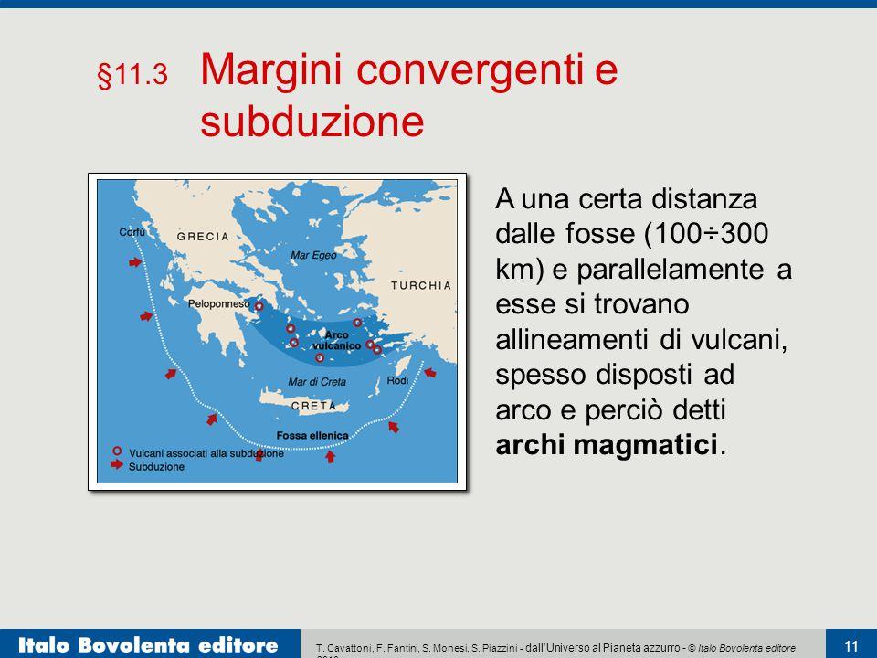 §11.3 Margini convergenti e subduzione