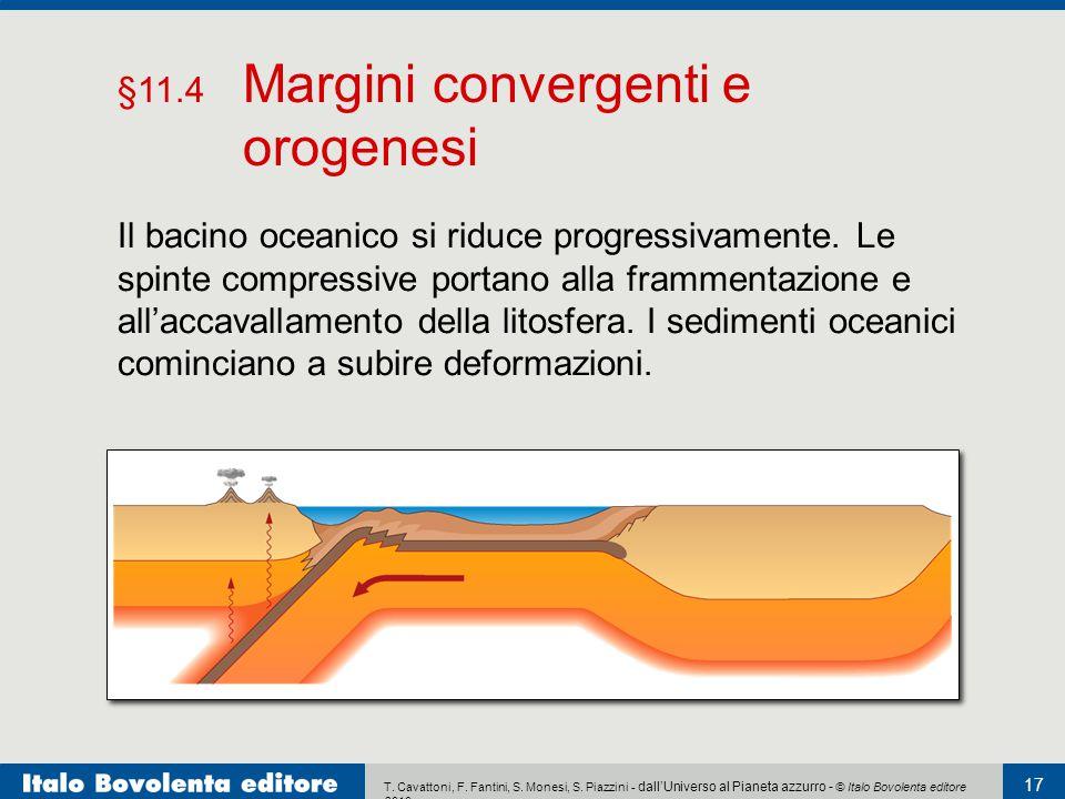 §11.4 Margini convergenti e orogenesi