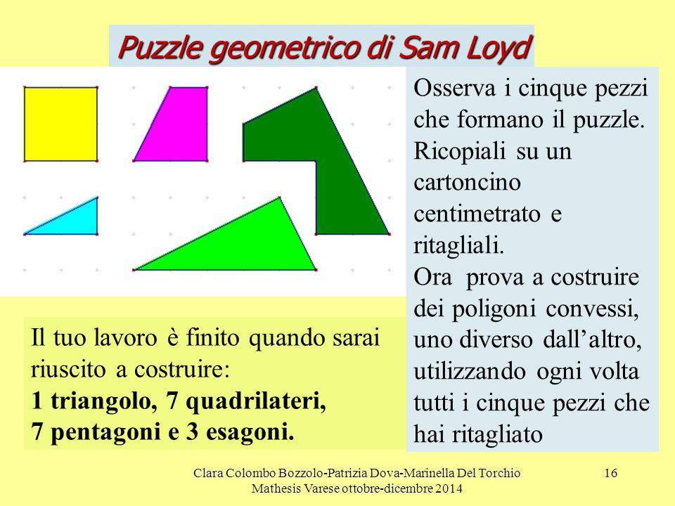 Puzzle geometrico di Sam Loyd