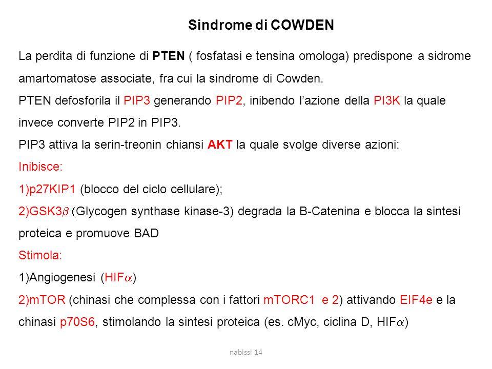 Sindrome di COWDEN