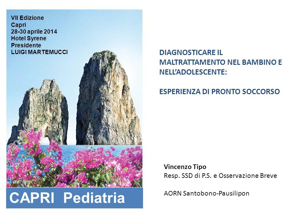 VII Edizione Capri. 28-30 aprile 2014. Hotel Syrene. Presidente. LUIGI MARTEMUCCI.