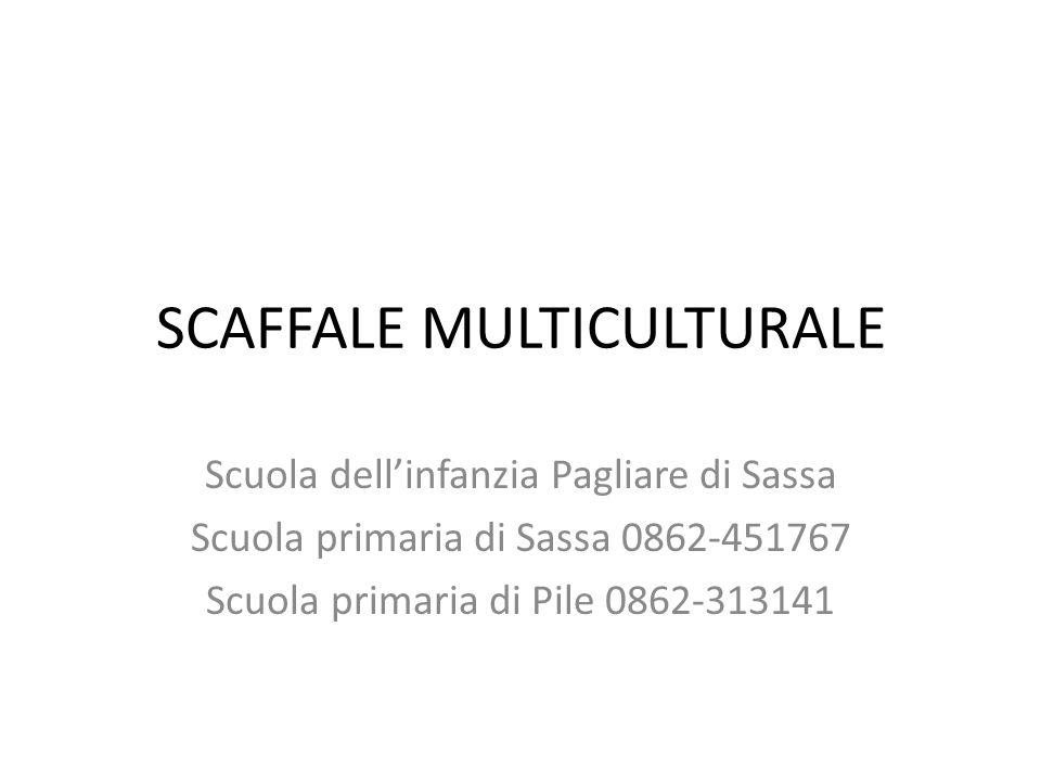 SCAFFALE MULTICULTURALE