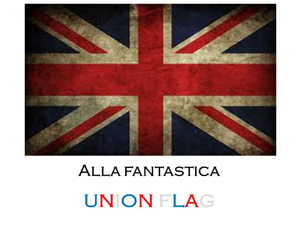 Alla fantastica union flag