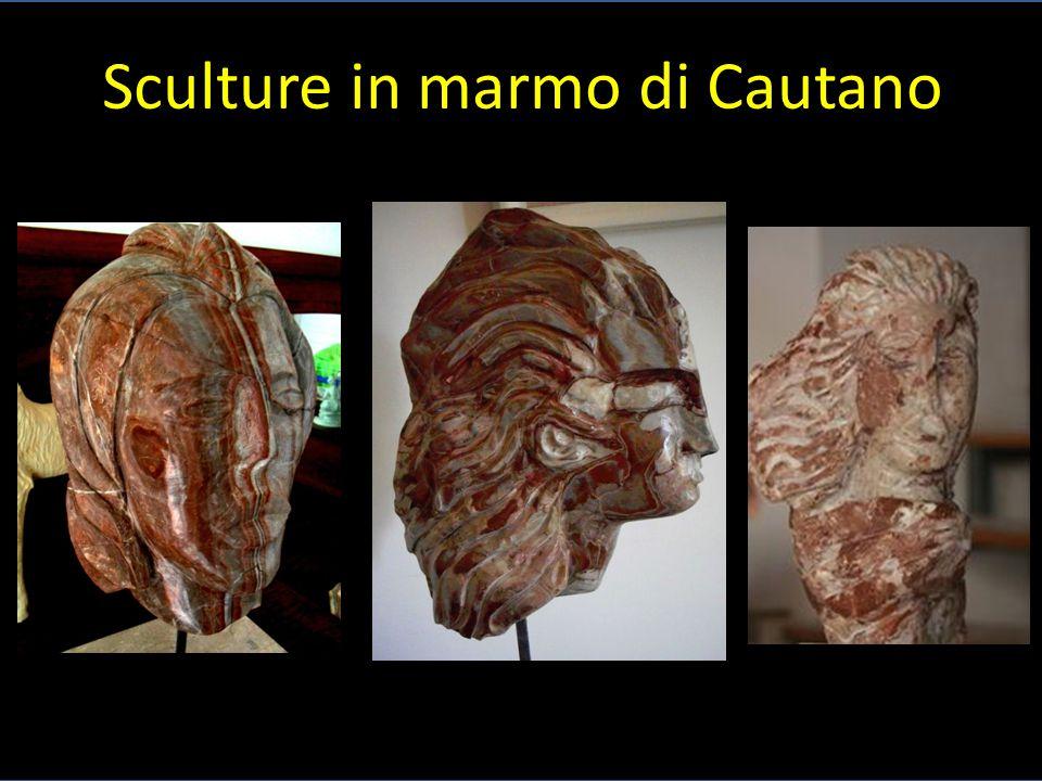 Sculture in marmo di Cautano