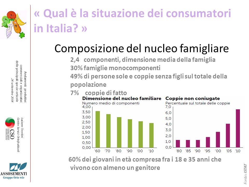 « Qual è la situazione dei consumatori in Italia »