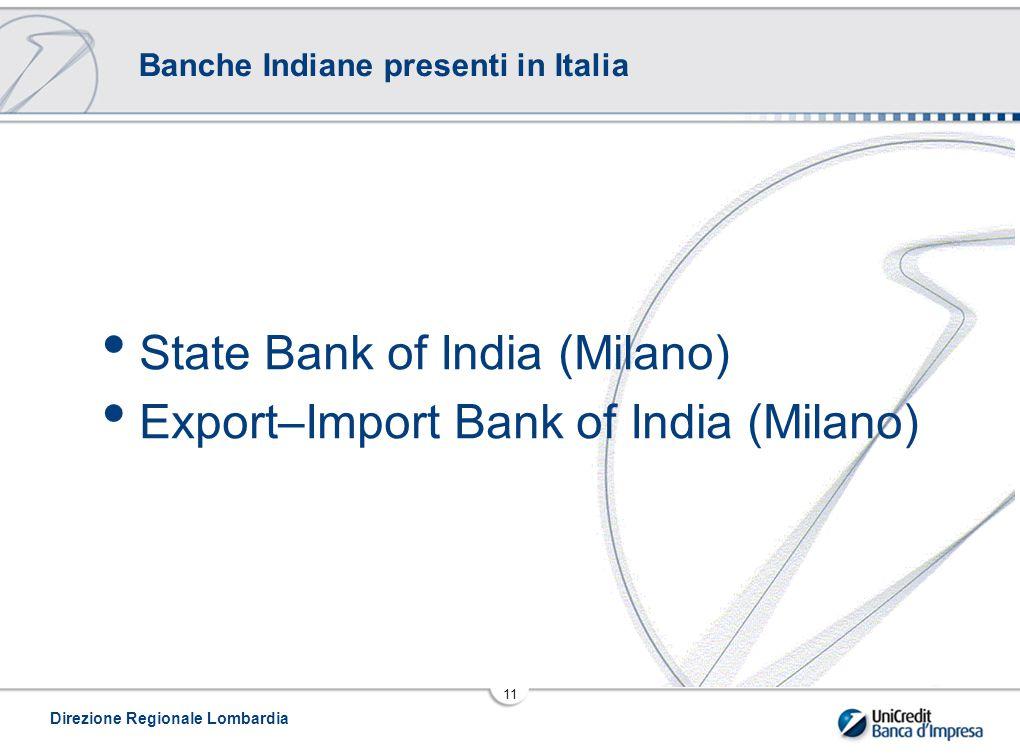 Banche Indiane presenti in Italia
