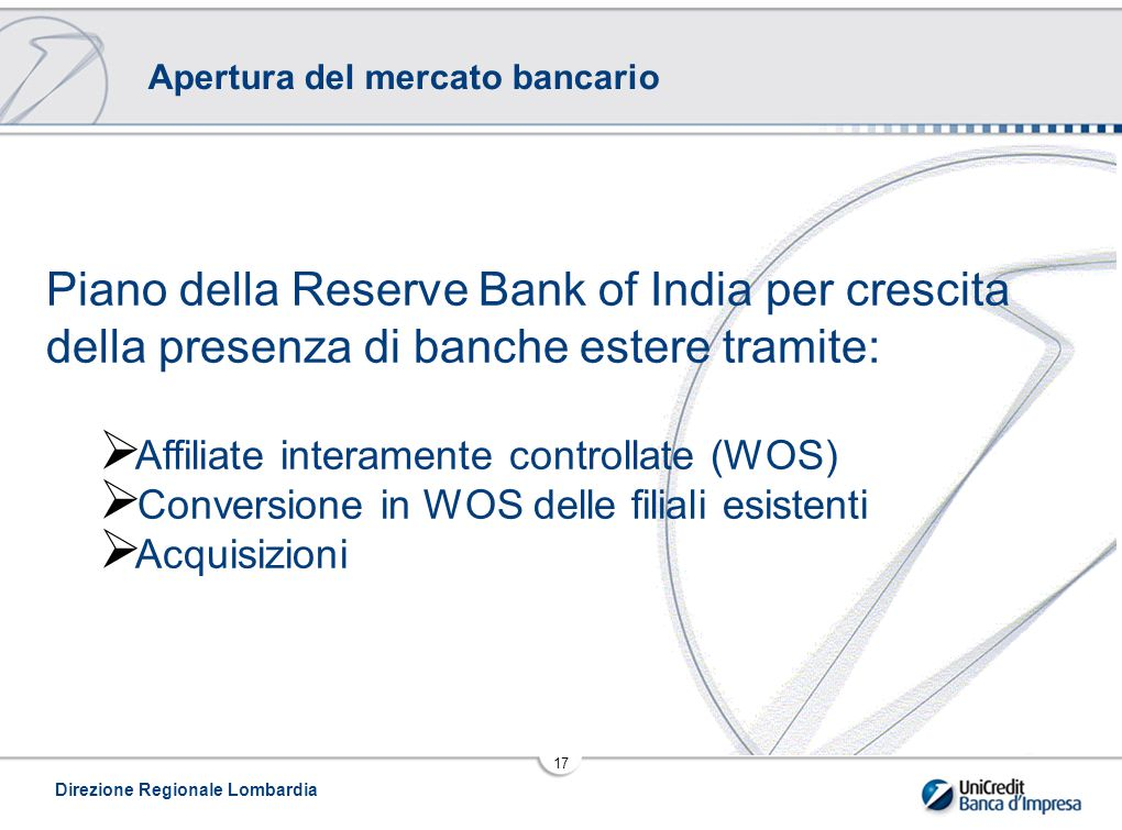 Apertura del mercato bancario
