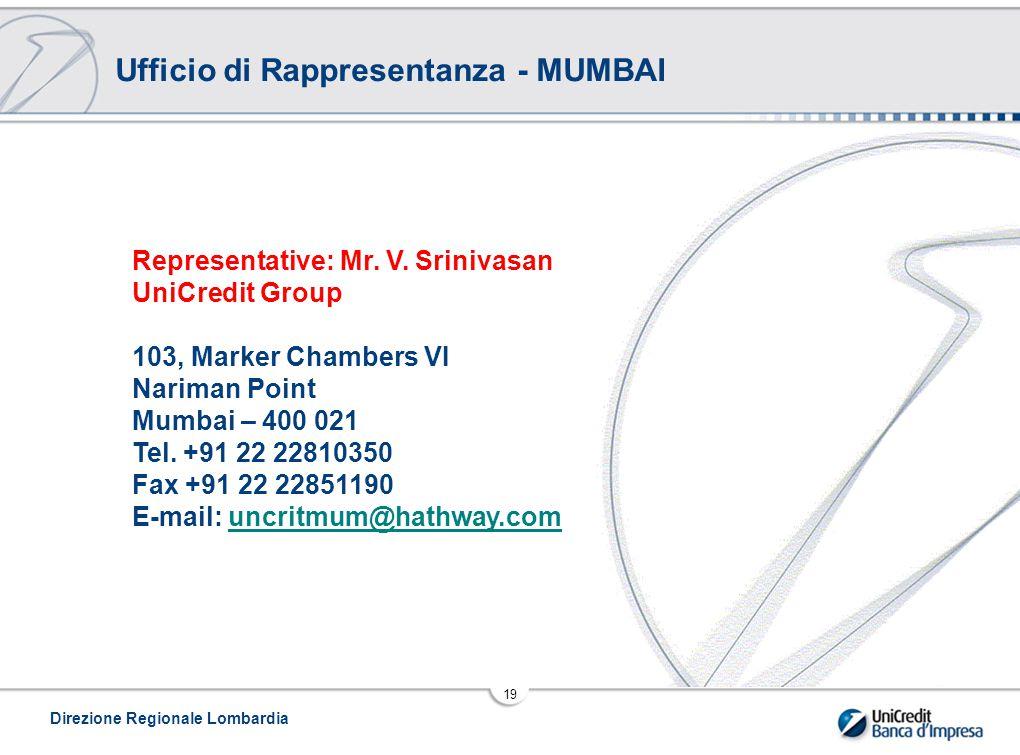 Ufficio di Rappresentanza - MUMBAI