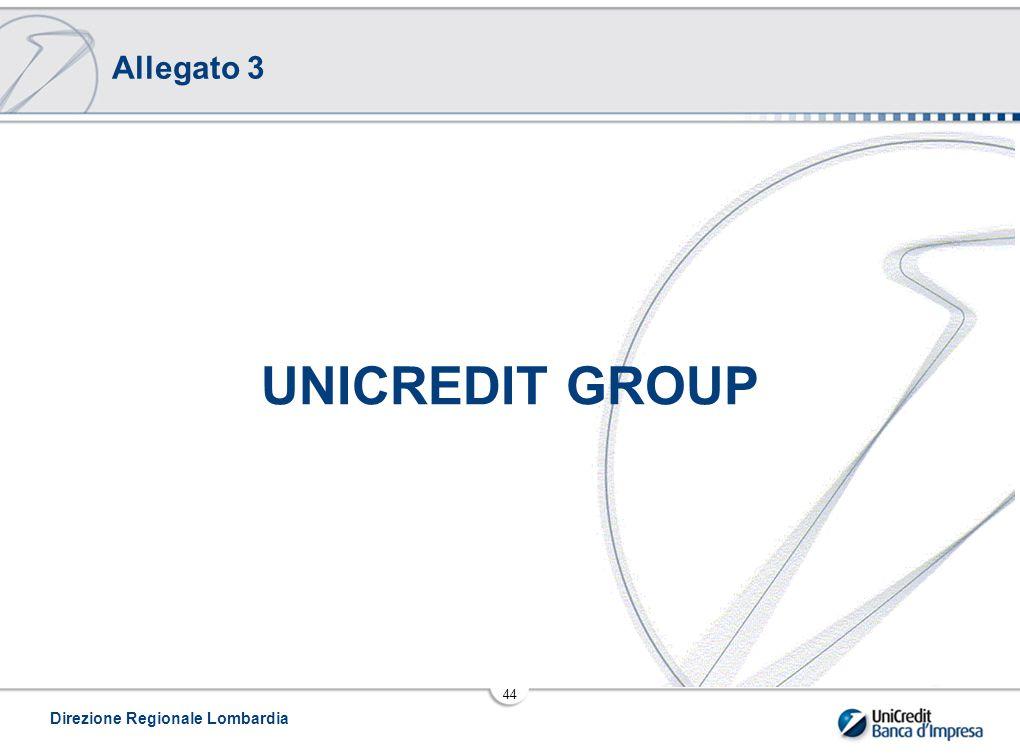 Allegato 3 UNICREDIT GROUP Direzione Regionale Lombardia