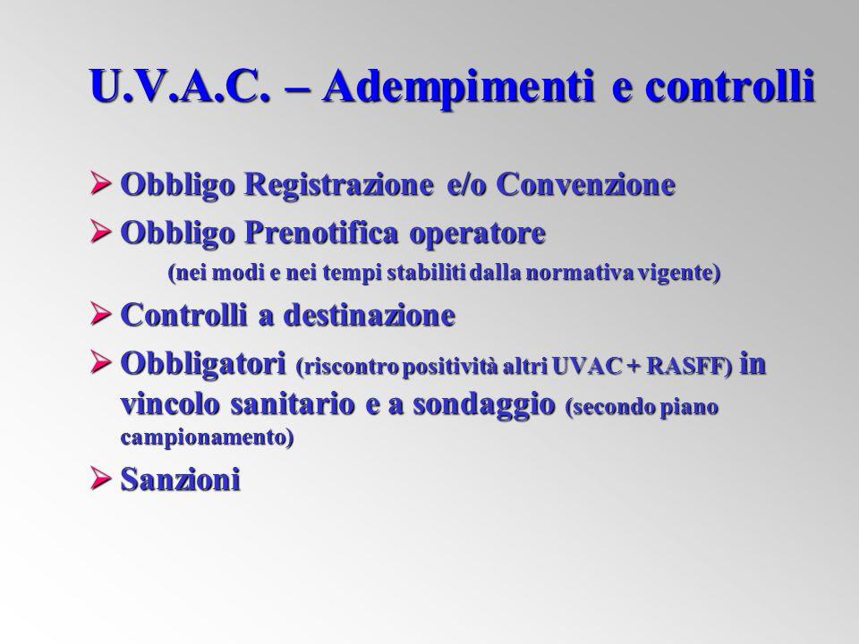 U.V.A.C. – Adempimenti e controlli