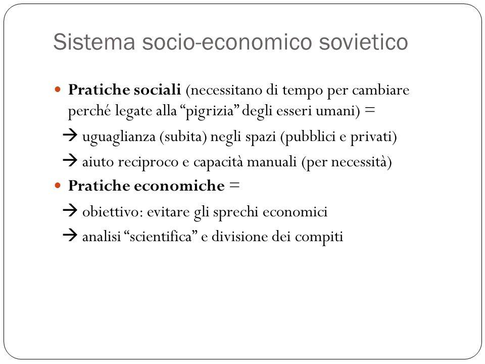 Sistema socio-economico sovietico