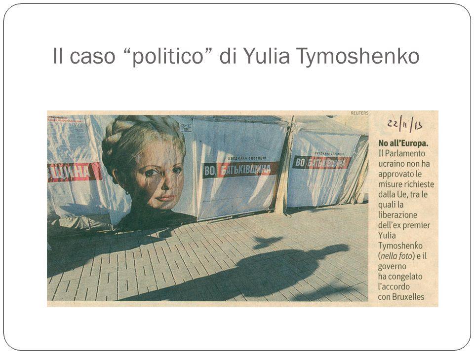 Il caso politico di Yulia Tymoshenko