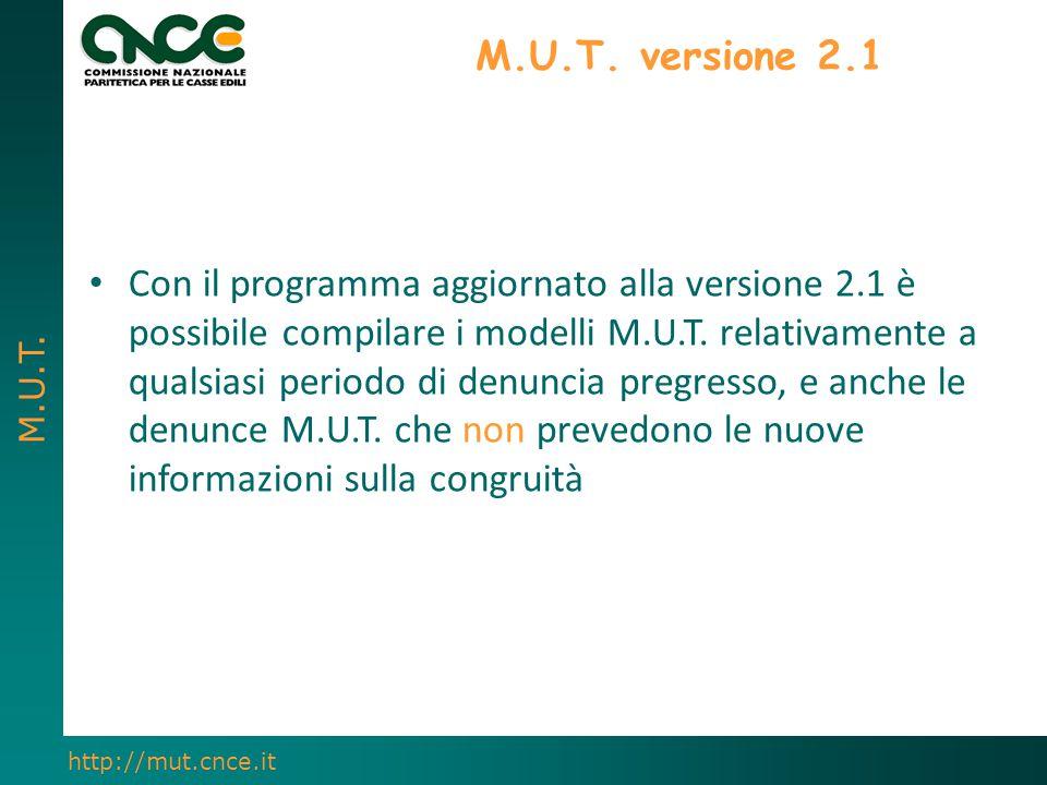 M.U.T. versione 2.1