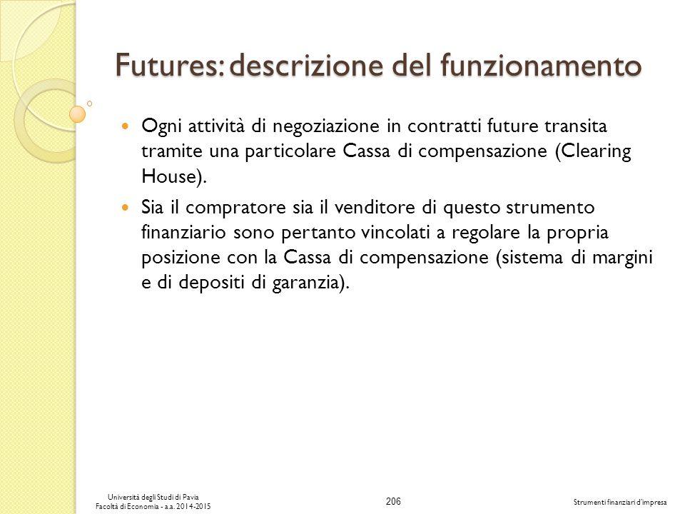 Futures: descrizione del funzionamento