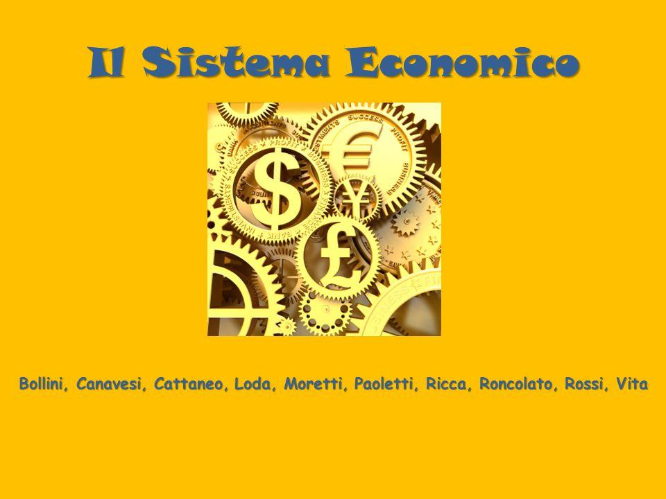 Il Sistema Economico Bollini, Canavesi, Cattaneo, Loda, Moretti, Paoletti, Ricca, Roncolato, Rossi, Vita.