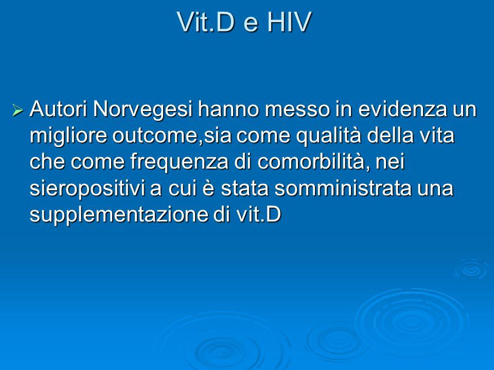 Vit.D e HIV