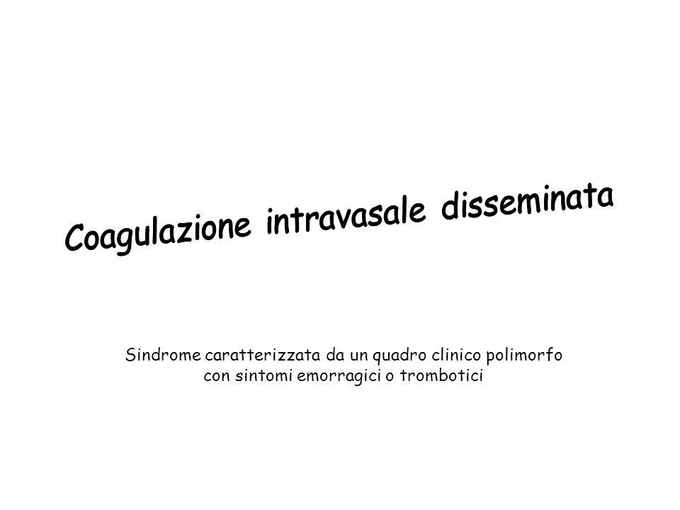 Coagulazione intravasale disseminata
