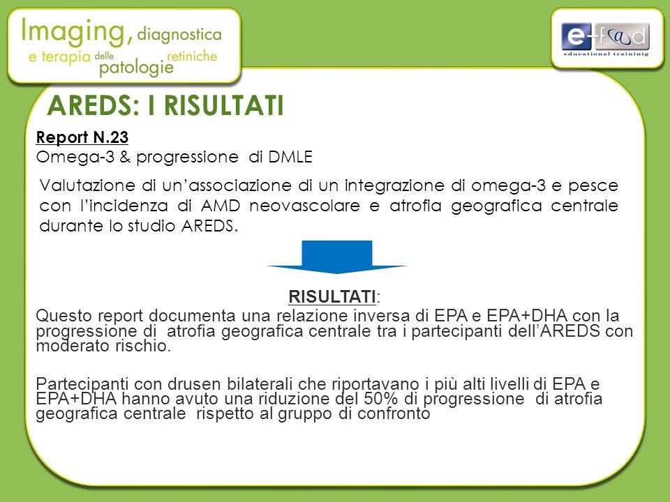 Report N.23 Omega-3 & progressione di DMLE