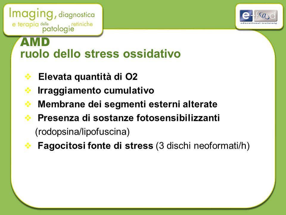 AMD ruolo dello stress ossidativo