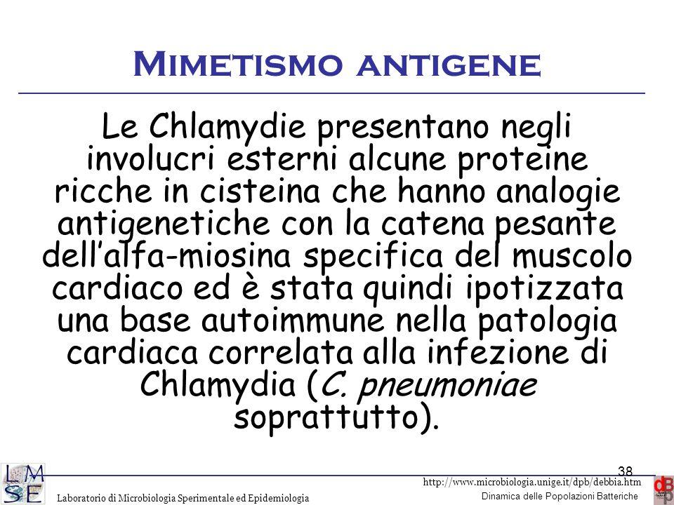 Mimetismo antigene