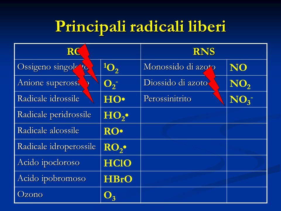 Principali radicali liberi