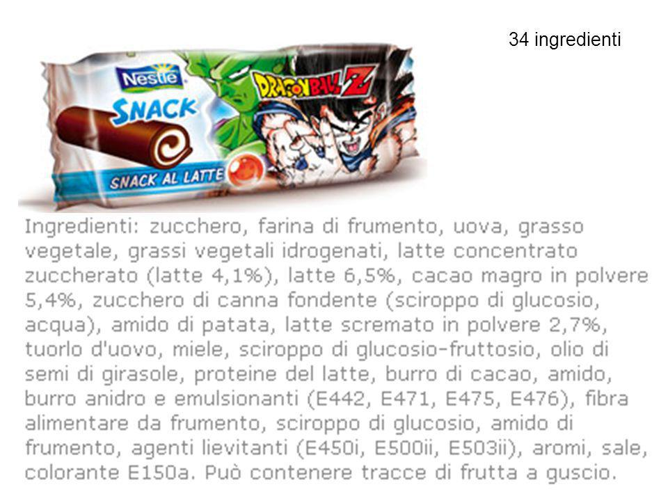 34 ingredienti