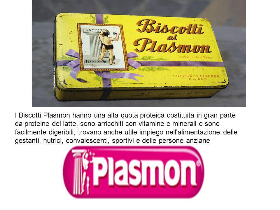 I Biscotti Plasmon hanno una alta quota proteica costituita in gran parte da proteine del latte, sono arricchiti con vitamine e minerali e sono facilmente digeribili; trovano anche utile impiego nell alimentazione delle gestanti, nutrici, convalescenti, sportivi e delle persone anziane