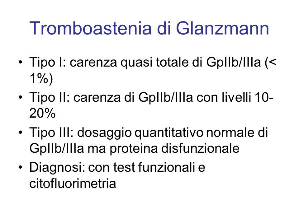 Tromboastenia di Glanzmann