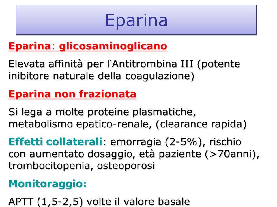 Eparina Eparina: glicosaminoglicano