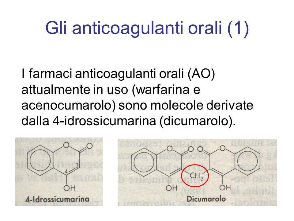 Gli anticoagulanti orali (1)