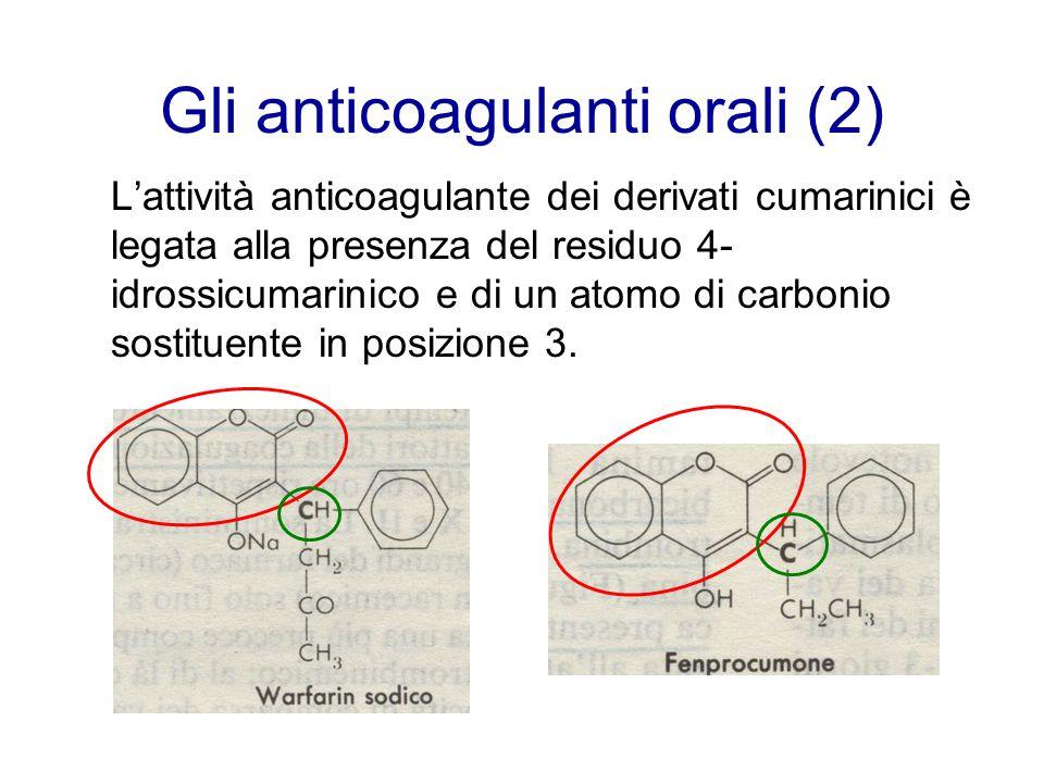 Gli anticoagulanti orali (2)