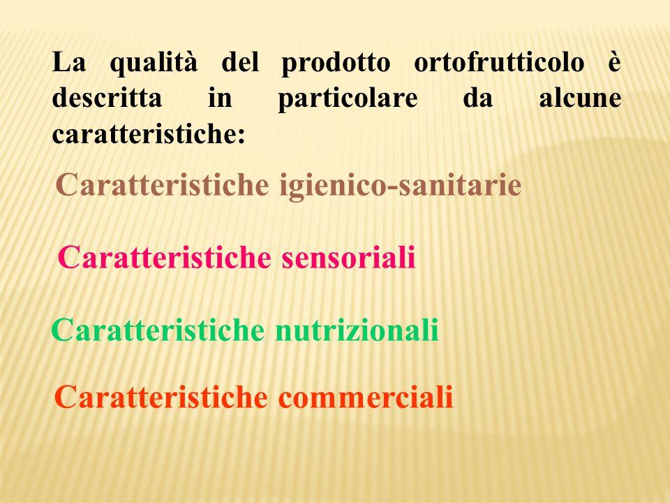 Caratteristiche igienico-sanitarie