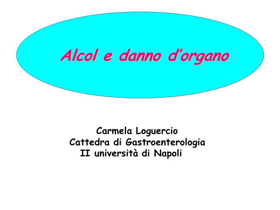 Cattedra di Gastroenterologia II università di Napoli