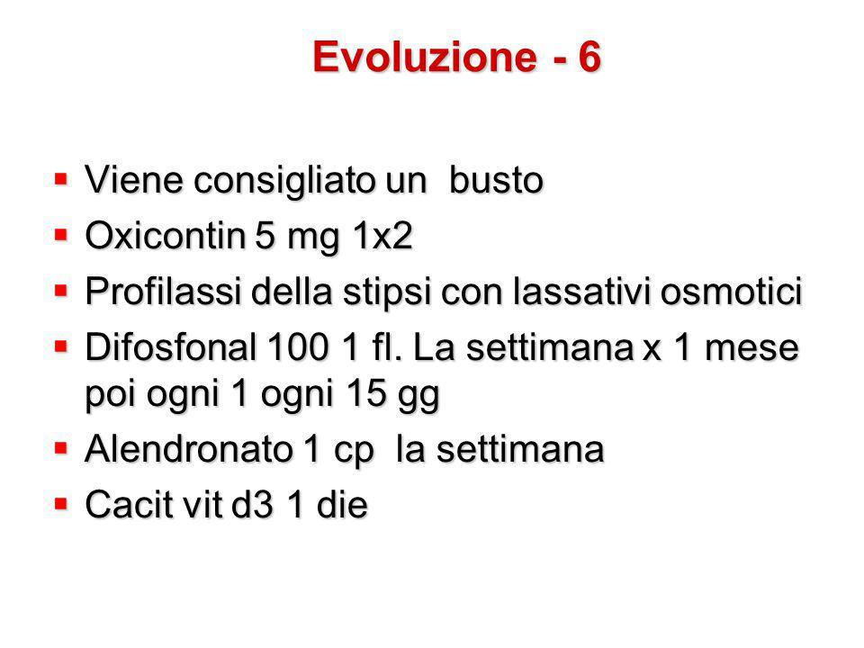 Evoluzione - 6 Viene consigliato un busto Oxicontin 5 mg 1x2